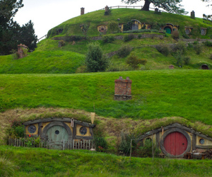 lord of the rings and the shire image