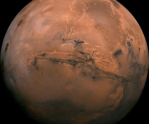 mars, planet, and space image