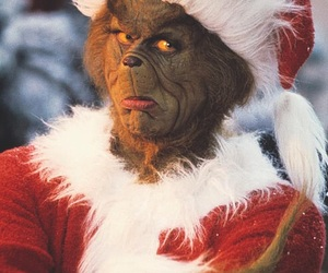 grinch, christmas, and movie image