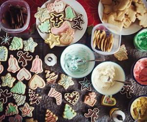 christmas, biscuits, and sweet image