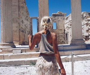 fashion, gold, and Greece image