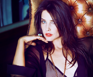 beautiful, brunette, and cobie smulders image
