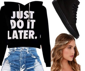 casual, idea, and outfit image