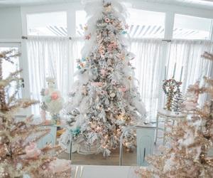 chic, christmas, and christmas tree image