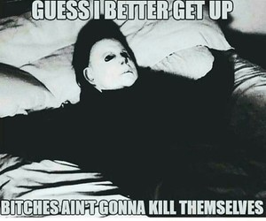 funny, Halloween, and michael myers image