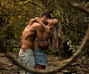 couple, romance, and love image