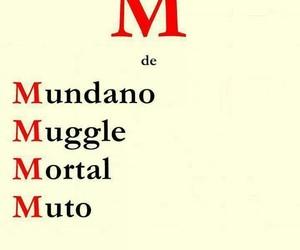 muggle, muto, and mortal image