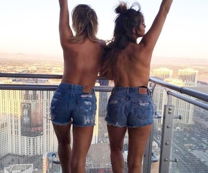 girl, bff, and goals image