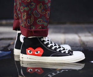 converse, streetwear, and shoes image
