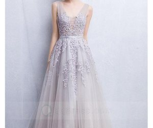 prom dresses, long prom dresses, and tulle prom dress image