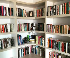 biblioteca, books, and casa image