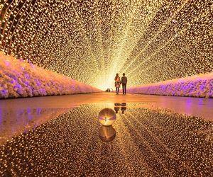 light, couple, and beautiful image