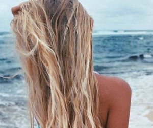 beach, hipster, and blonde image