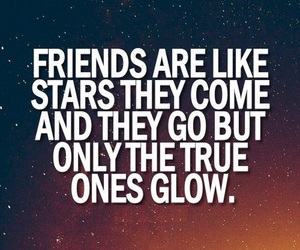 friends, stars, and quotes image