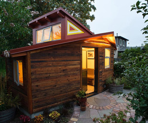 architecture, small house, and design image