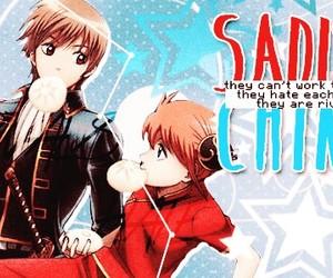 anime, couples, and gintama image