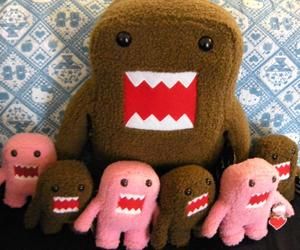 domo, domokun, and monster image