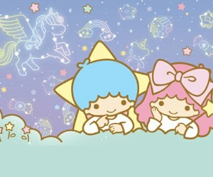 sanrio, little twin star, and cute image