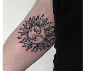 tattoo and sun image