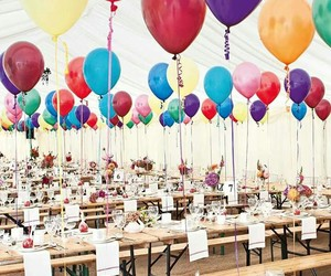 colores, reception, and 🎈 image