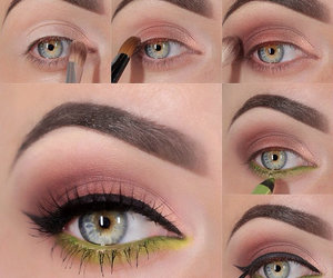 beauty, brows, and color image