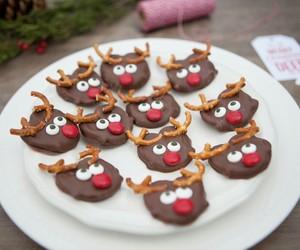 chocolate, christmas, and yummy image