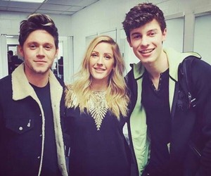 niall horan, shawn mendes, and Ellie Goulding image