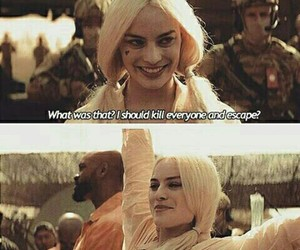 harley quinn, suicide squad, and bad image