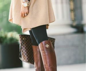 boots, classy, and fall image