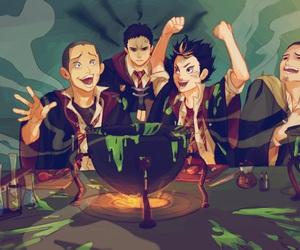 haikyuu, harry potter, and anime image