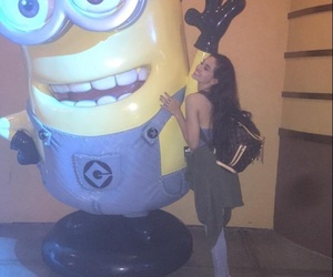minions and maggie lindemann image
