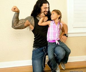 daughter, wwe, and roman reigns image