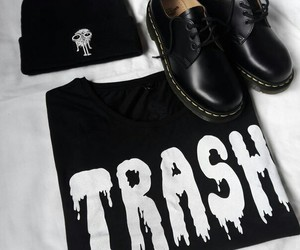 black, shoes+, and tumblr+ image