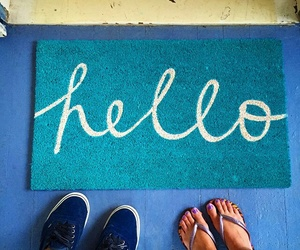 alfombra, hello, and travel image