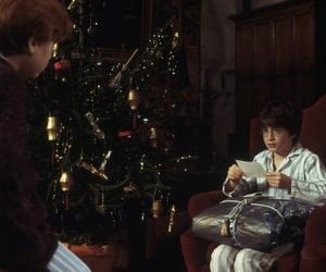 christmas, hogwarts, and ron weasley image