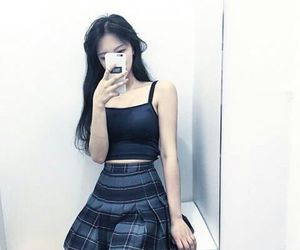 girl, asian, and grunge image