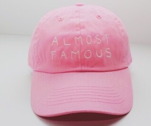 pink, cap, and famous image