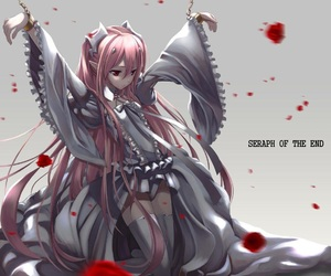 seraph of the end, anime, and vampire image