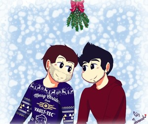 christmas, vegetta, and willyrex image