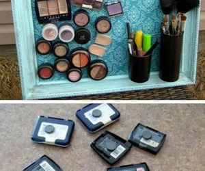 makeup, diy, and make up image