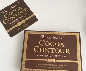 chocolate, makeup, and cocoa image