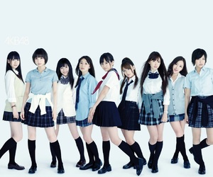 beauty, girls, and J-pop image