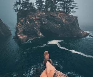 adventure, legs, and mountains image