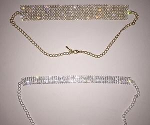 choker, necklace, and diamond image