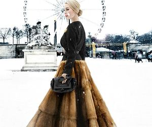 chic, Couture, and fur image