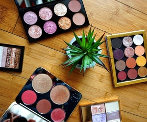 makeup, highlighters, and perfect image