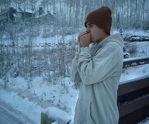 justin bieber, justin, and winter image