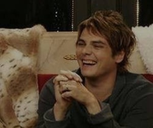 Gerard Way Laughing