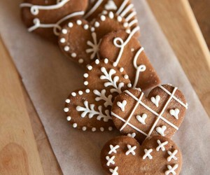 christmas, Cookies, and cozy image