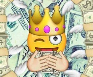 emoji, money, and wallpaper image